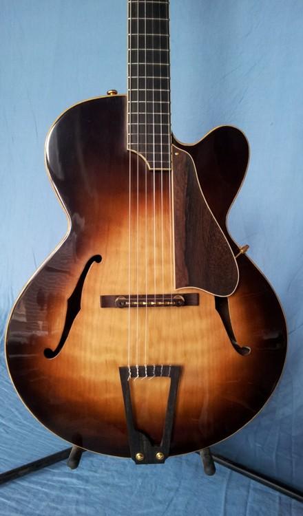 the domette nylon string archtop jazz guitar. Black Bedroom Furniture Sets. Home Design Ideas
