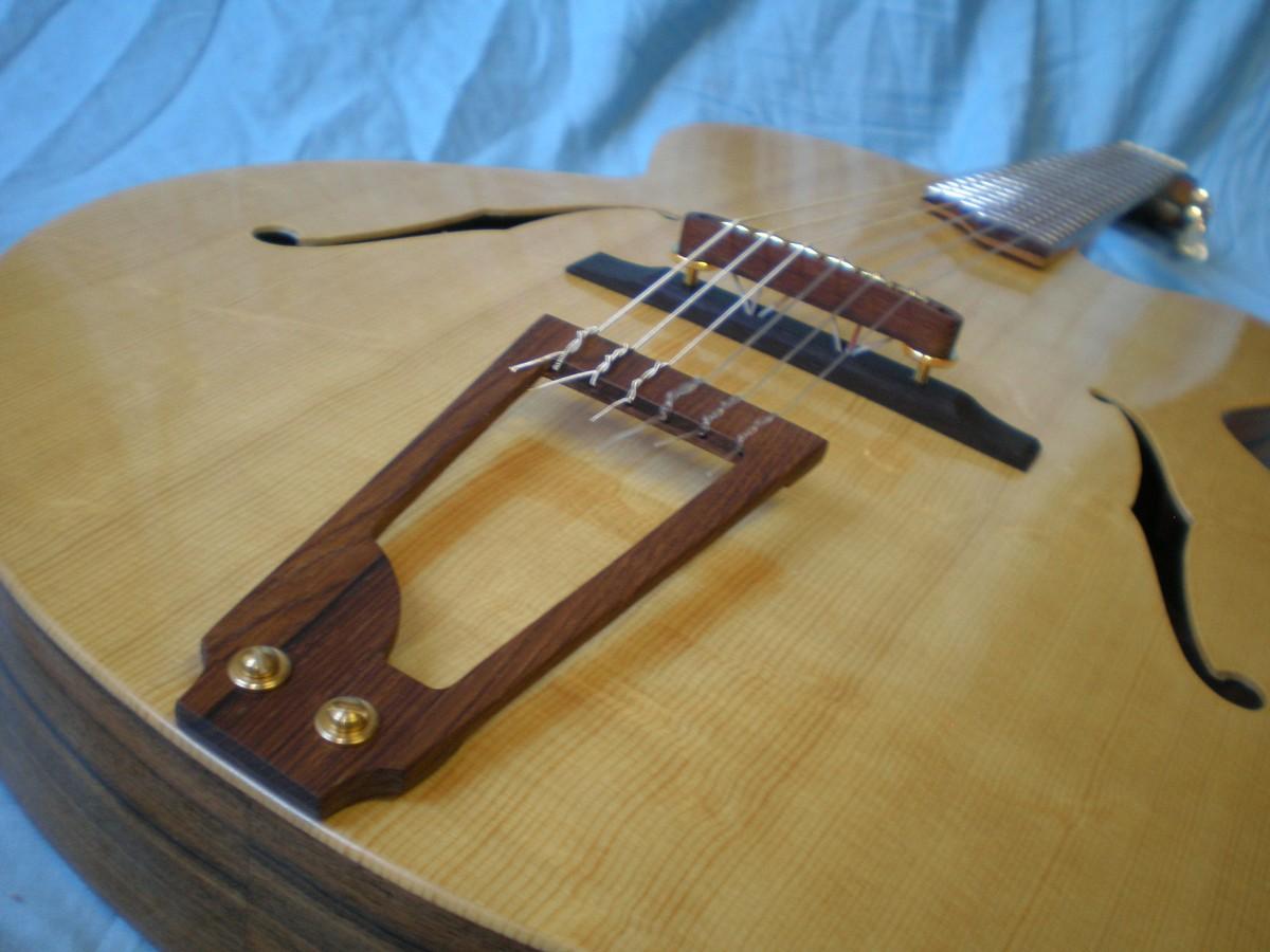 nylon string archtop jazz guitar. Black Bedroom Furniture Sets. Home Design Ideas